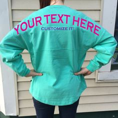 **We can put ANYTHING on your shirt, just ask!!!**    **Price does not include design on the front, but we can add your monogram, sorority,