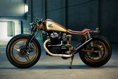 Custom Honda CX500 by Dirk Oehlerking