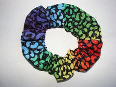Check out this item in my Etsy shop https://www.etsy.com/listing/220780827/colorful-rainbow-black-fabric-hair