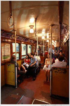 Train, Subte (Buenos Aires subway) line A.