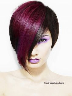 two tone hair styles