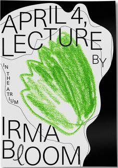 poster for irma boom, franci virgili Cover Design, Graphisches Design, Buch Design, Layout Design, Print Design, Print Layout, Graphic Design Posters, Graphic Design Typography, Graphic Design Inspiration