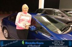#HappyAnniversary to Sandra St John on your 2013 #Honda #Civic Sedan from Everyone at Honda Cars of Rockwall!