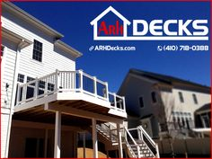"""Investing in a new deck for your home is an easy way to increase your home's value while creating a new living space that your family is sure to enjoy... let's talk about new deck options that fit your budget and needs... Howard County MD Deck Contractor – ARH Decks (410) 718-0388"""