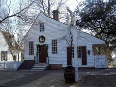 via BKLYN contessa :: Harness and Saddlemaker House, Colonial Williamsburg, Virginia (VA) by bobindrums, via Flickr