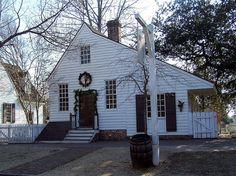 via BKLYN contessa :: Harness and Saddlemaker House, Colonial Williamsburg, Virginia (VA) by bobindrums, via Flickr