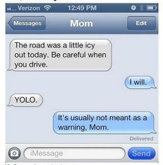 14 Hilarious Text Conversations with Parents.