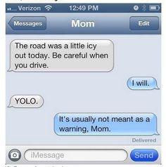 14 Hilarious Text Conversations with Parents.