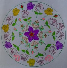 Mandala rose (le mie creazioni)