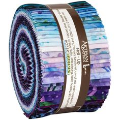 Robert Kaufman Fabrics Lively Garden Artisan Batiks Roll Up Jelly Roll Frozen Fabric, Hancocks Of Paducah, Pink Sand Beach, Shabby Fabrics, Drapery Hardware, Beach Design, Robert Kaufman, Fabric Strips, Quilting Designs