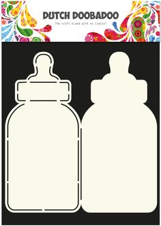 470 713 582 Dutch Doobadoo Card Art Baby Bottle