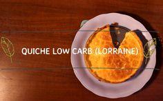 Quiche Low Carb (Quiche Lorraine)
