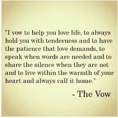 The vow - quotes - movie