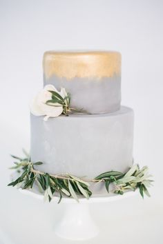 Alexia & Jeremy's vegan wedding cake is so beautiful it is hard to believe it's . Santorini Wedding, Greece Wedding, Vegan Wedding Cake, Wedding Cakes, Gray Weddings, Unique Weddings, Pillar Candles, Special Day, Event Planning