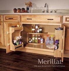 Merillat Masterpiece® Base Multi-Storage Sink Base Cabinet