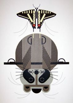 Charley Harper - Raccrobat