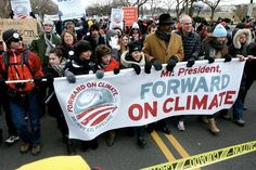 Last weekend, 40,000 people gathered in Washington to encourage President Obama not to light the fuse on the so-called 'carbon bomb.'
