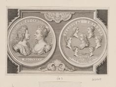 George Vertue (1684-1756)  GEORGIVS. II. REX. ET. CAROLINA REGINA  c.1732-56 Engraving | RCIN 603909