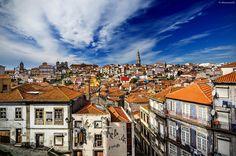 Porto, Portugal by alfonso maseda varela, via Close To My Heart, Paris Skyline, Portugal, Places, Pictures, Travel, Porto, Photos, Viajes
