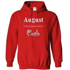 August T Shirts, Hoodies Sweatshirts. Check price ==► http://store.customtshirts.xyz/go.php?u=https://www.sunfrog.com/Names/August-8602-Red-14468067-Hoodie.html?41382
