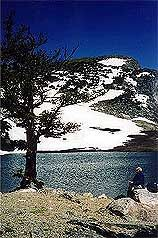 St. Mary's Glacier - hiking in Summit County Colorado