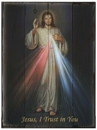 One of the most beloved depictions of the Divine Mercy, this image draws us in and bids us meditate upon the overwhelming mercy and love of Our Lord.