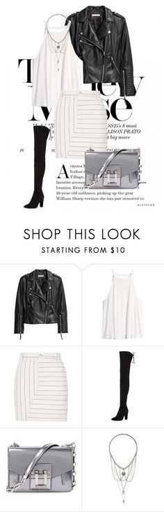 """""""Yesterday"""" by agnesegundega on Polyvore featuring H&M, Topshop, Stuart Weitzman and Proenza Schouler"""