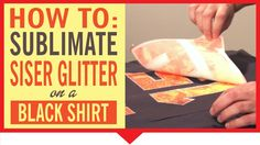 This is how we roll at the trade shows! In this video, Joe uses Siser white Glitter and applies a sublimation print on it to give it a crazy awesome look! If you own a sublimation printer and are looking for new uses for it, then sublimated Siser Glitter might be the answer you're looking for! Facebook:https://www.facebook.com/SiserNorthAmerica Twitter: twitter.com/Siser_NA Pinterest: www.pinterest.com... Instagram:http://instagram.com/sisernorthamerica