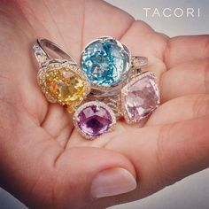 Tacori. A handful of Gems. #SkaneatelesJewelry #Skaneateles #WhereCNYgetsENGAGED