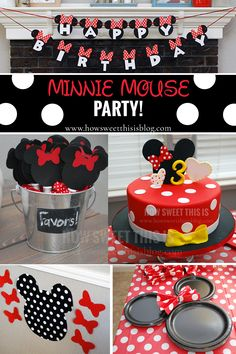 Minnie Mouse Party -