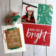 Hello December Project Life Collection to complete your holiday documenting ~ Cindy Schuster December Daily, Merry And Bright, Christmas Projects, Project Life, I Card, Stampin Up, Christmas Cards, Artisan, Blog