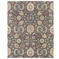 Kaleen Helena Collection Hera Rug in Pewter - BedBathandBeyond.com