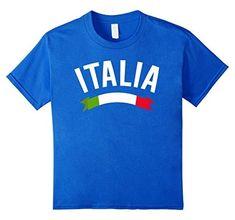 Italy Italian Flag Italia Tricolore Maglietta T-Shirt