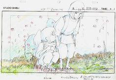 Spirited Away (2001) storyboard
