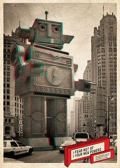 Go Beyond :: Industria Digital Self-Promo by Dima Tsapko, via Behance