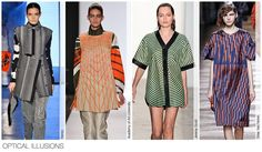 Top Prints and Patterns, Women's Market, F/W 2015-16, OPTICAL ILLUSIONS