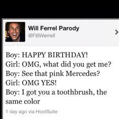 Cruel. Funny, but cruel. Hahaha!