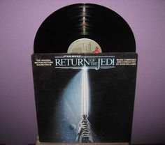 Rare Vinyl Record Return of the Jedi Original by JustCoolRecords, $25.00