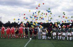 Equipes de football canadienne et égyptienne des IIes Jeux de la Francophonie de Paris/France - 1994