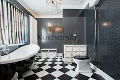 łazienka - stary pałac - projekt nawiązujący do klimatu starego pałacu