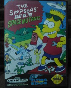 Interesting one by ojisanretoro #segagenesis #microhobbit (o) http://ift.tt/1YgYG8Q Simpsons: Bart vs. The Space Mutants for Tuesday. Released on 1992 by Flying Edge. Only Bart can save the human race from the slimy horrible totally gross and putrid monsters which wanted to take over the entire planet. #bartsimpson #bartsimpsons #bartvsthespacemutants #thesimpsons #tvshow #sundaycartoons #cartoon #cartoons #flyingedge #simpsons #instavideogames #instavideogame #videogames #videogame…
