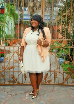 Tulle, Pastel, Plus Size Fashion, Musings of a Curvy Lady