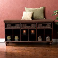 Keep your entryway looking neat and organized with the Chelmsford Shoe Bench.