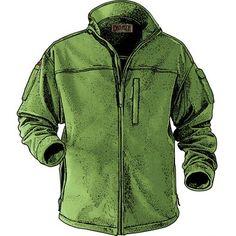 Men's Shoreman's Fleece Jacket