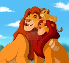 Mufasa Simba and Kiara - Google Search