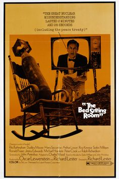The Bed Sitting Room directed by Richard Lester. Second World, End Of The World, Richard Lester, Spike Milligan, Comedy Duos, Art Through The Ages, Best Cinematography, Sci Fi Films, Academy Award Winners