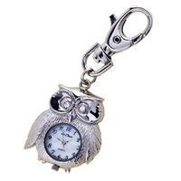 £12.00 Silver-tone #Owl #Keyring #Watch, #fashion #accessoires www.highstreetfashion.co