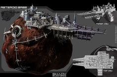 asteroid base concept - Google Search