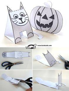 шаблони за хартиени играчки без лепене
