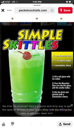 Liquor Drinks, Non Alcoholic Drinks, Cocktail Drinks, Cocktail Recipes, Beverages, Bourbon Drinks, Mixed Drinks Alcohol, Alcohol Drink Recipes, Drinking Games For Parties